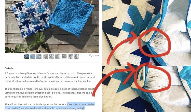 Erzielt die nächste Stufe an Professionalität mit unseren Textilpflege Etiketten!