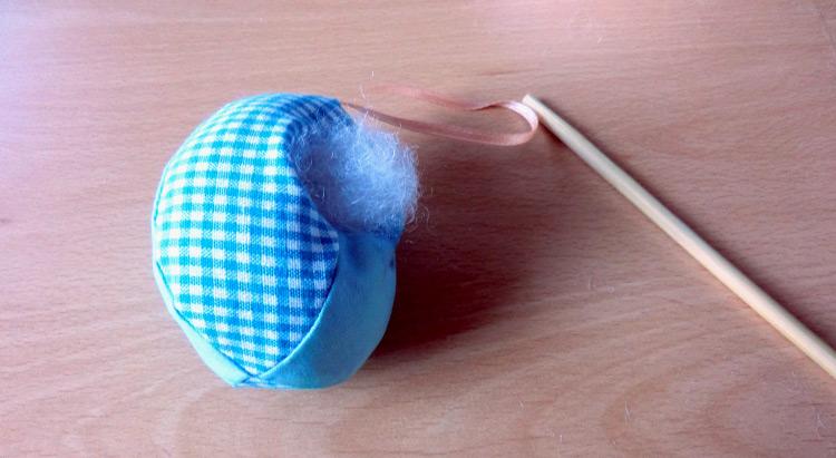 Uova di Pasqua di stoffa pendenti