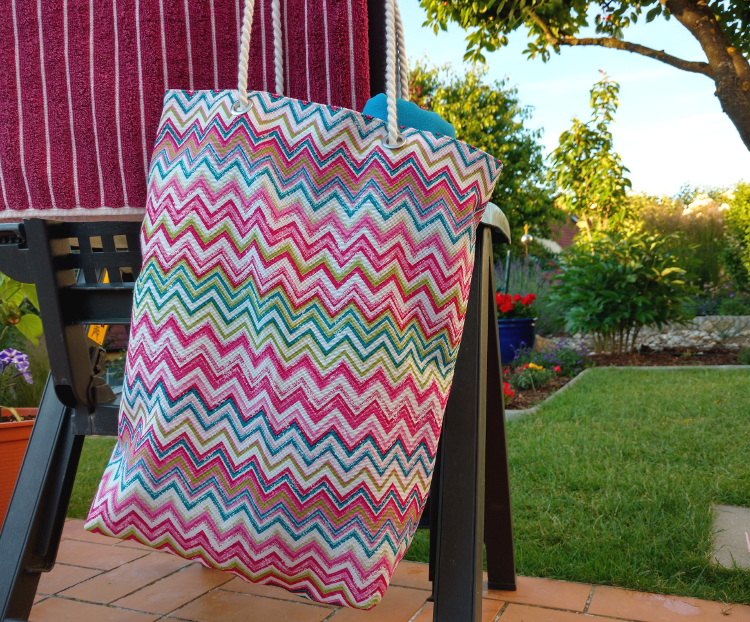 DIY: Un sac de plage fonctionnel et original!