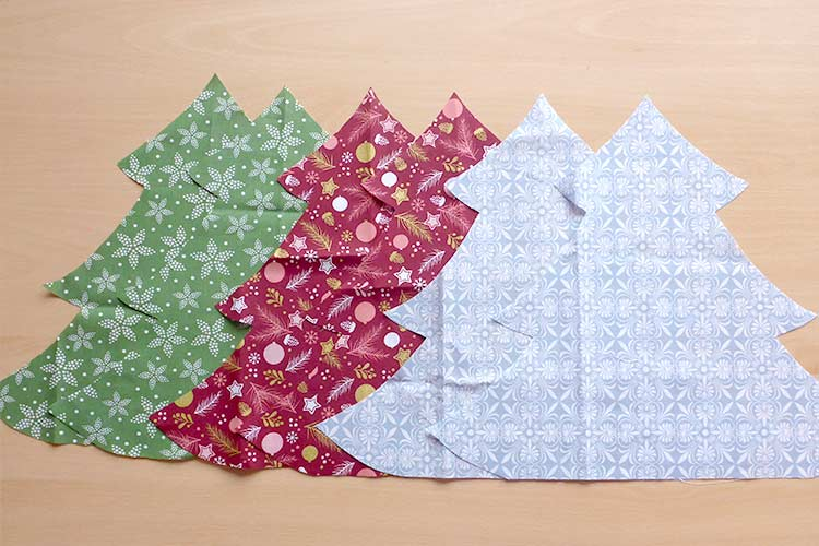 Festive tutorial on how to sew a Christmas tree