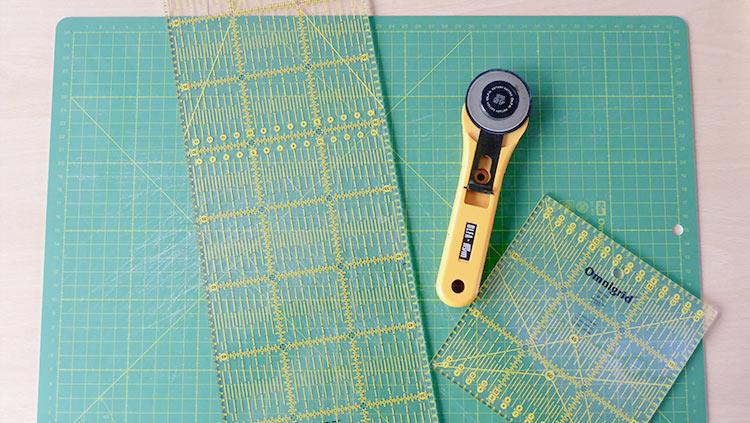 Hoe maak ik een quilt-kussen: een 5-delige serie