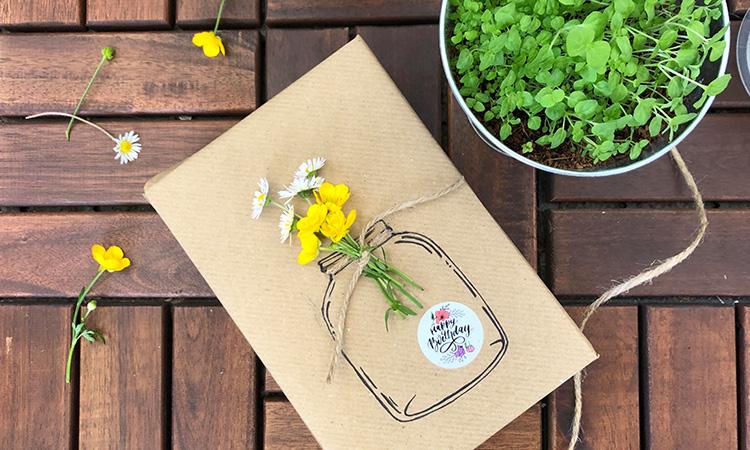 Let's wrap it up - 10 idées d'emballages cadeau originaux et durables