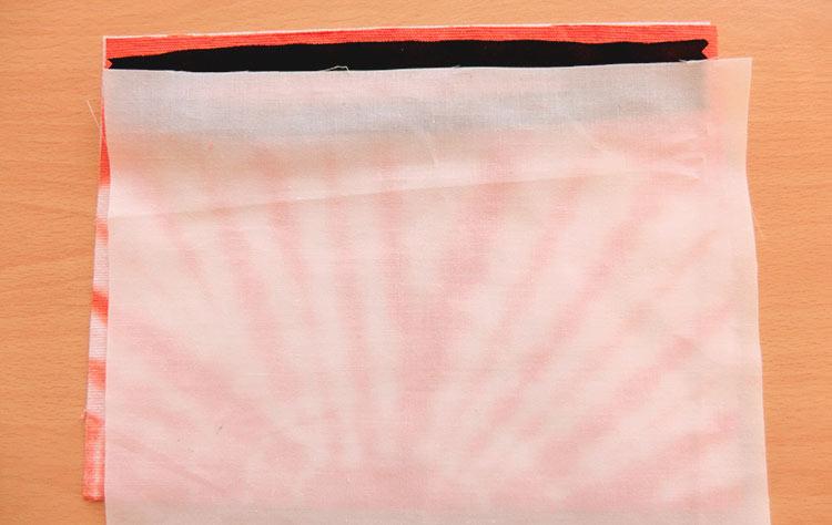 Instruktioner för att sy en sminkväska med dragkedja
